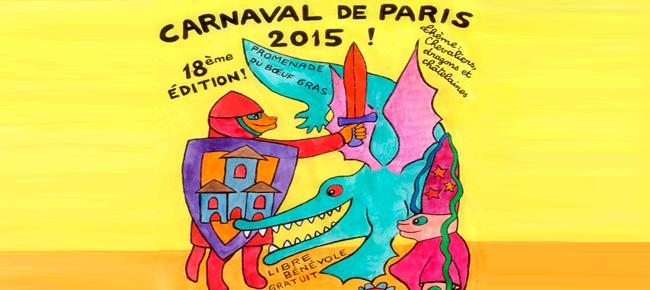 cartel carnaval de paris